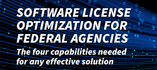 Software License Optimization for Federal Agencies